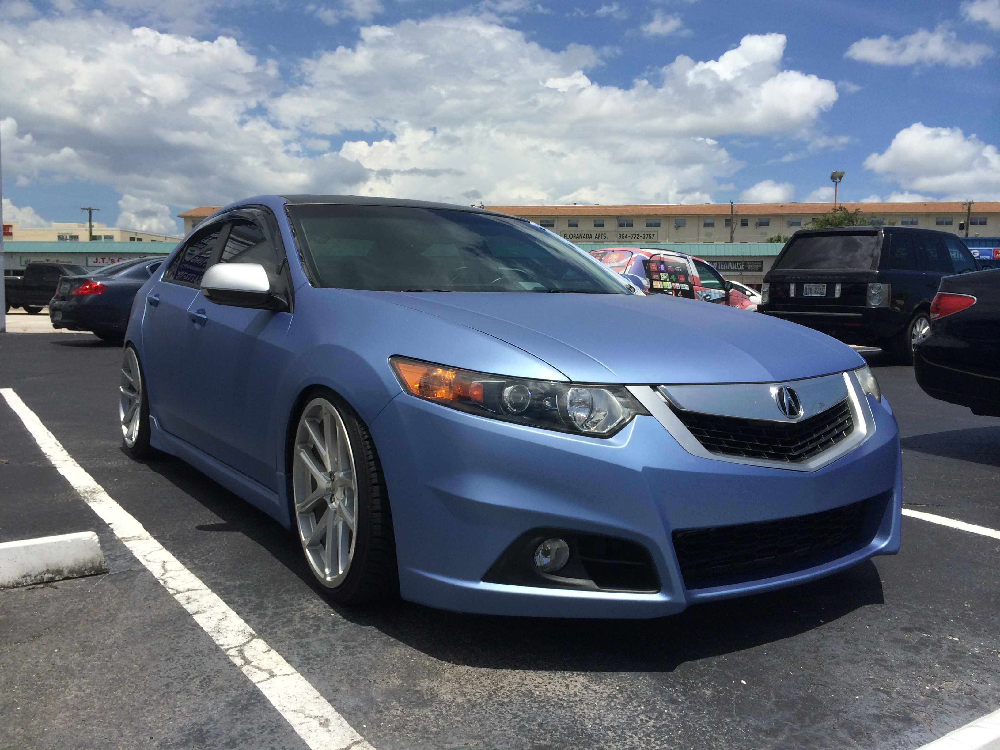 Intack Signs And Wraps Acura Tsx Color Change Wrap