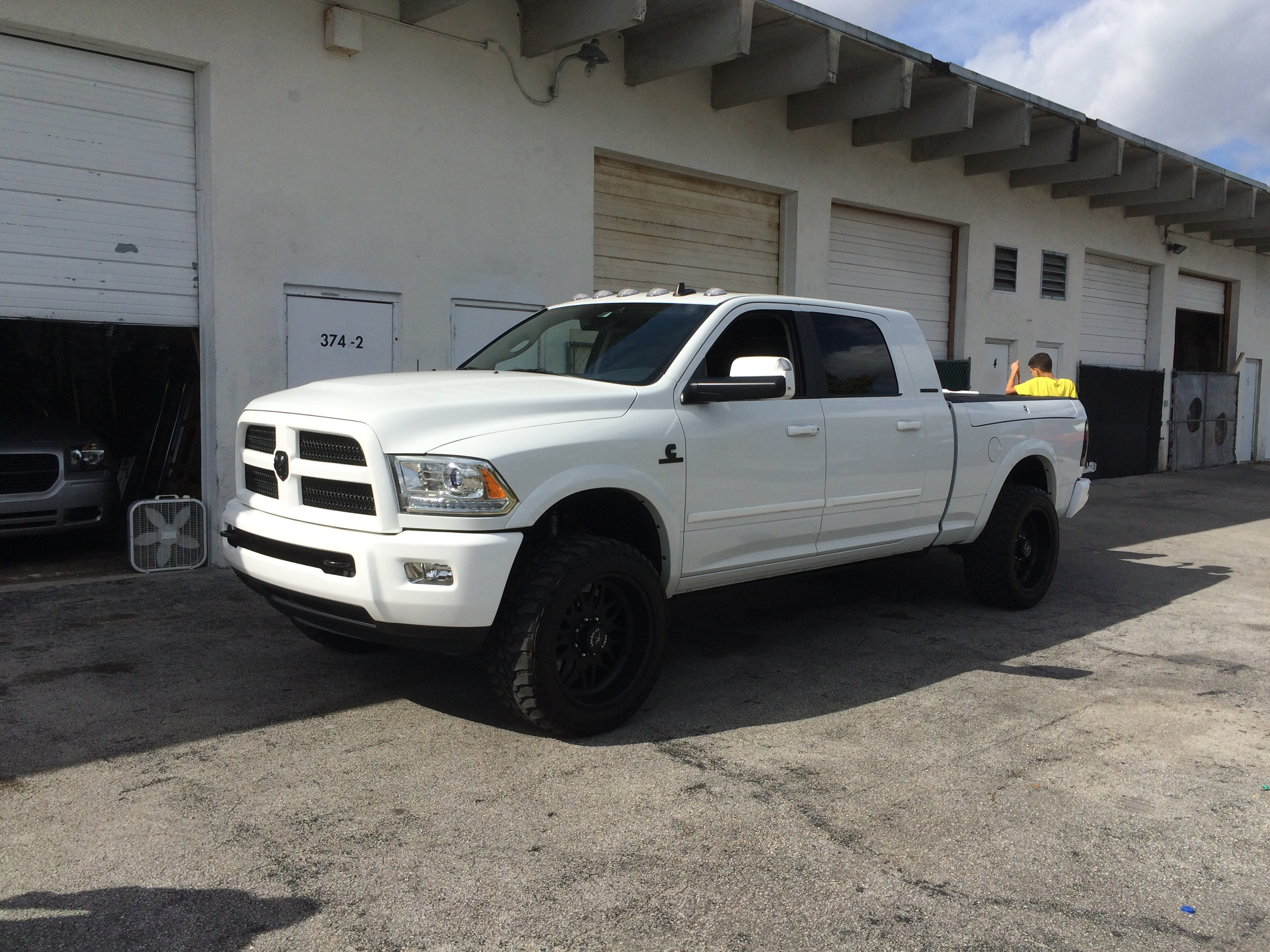 day war ford insane dodge the vs silver tug of